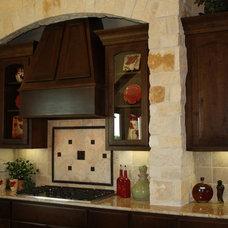 Rustic Kitchen by Mill Creek Custom Homes