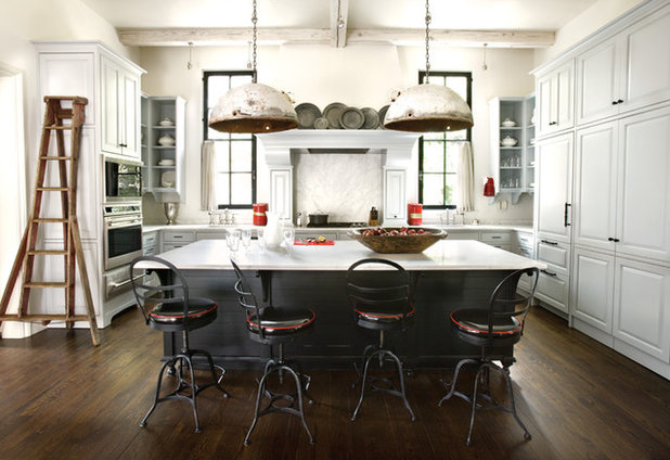 Transitional Kitchen by ROMABIO / Indoor & outdoor Mineral Based Paints
