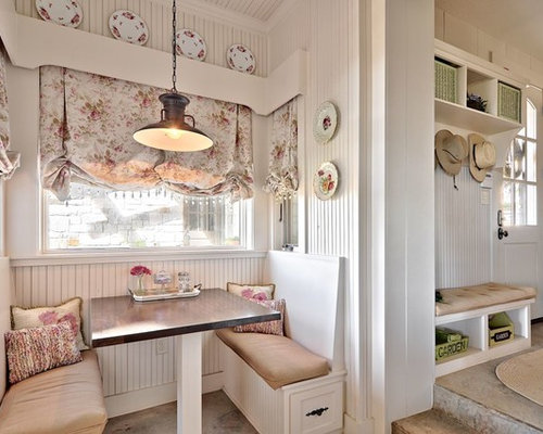 best shabby-chic style kitchen with concrete floors design ideas ... - Shabby Cucina