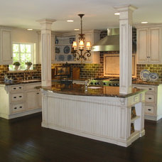 Traditional Kitchen by Barbara Stock Interior Design