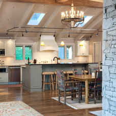 Rustic Kitchen by Armstrong Kitchens, Inc