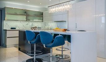 Roney Palace, South Beach, Miami, Florida Custom Kitchen