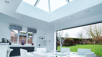 Roof Lantern and Bi-Folding Doors