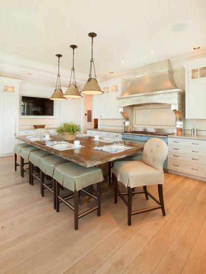 Transitional Kitchen by Kurt Johnson Photography