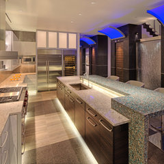 modern kitchen by Deep River Partners