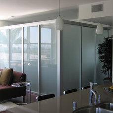 Contemporary Kitchen by The Sliding Door Company Canada