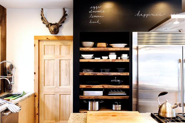 Rustic Kitchen by Haas Habitats LLC