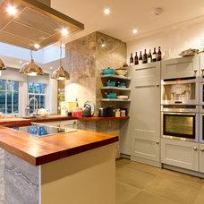 Transitional Kitchen by Turner Builders Ltd