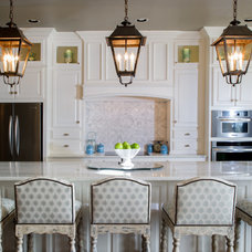 Traditional Kitchen by The Peak of Tres Chic Interior Design
