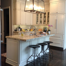 Transitional Kitchen by Dixieline