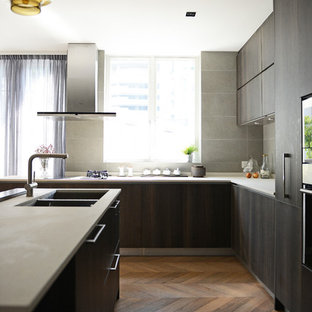 25 Best Hong Kong Kitchen with Dark Wood Cabinets Ideas & Decoration ...