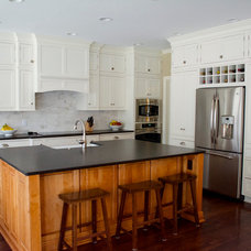 Transitional Kitchen by LuxeMark Company