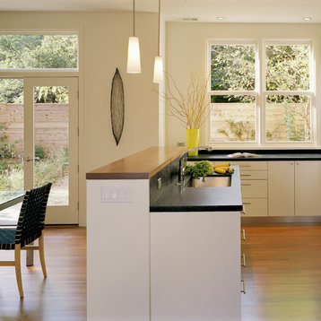Peninsula Sink Home Design Ideas, Pictures, Remodel and Decor