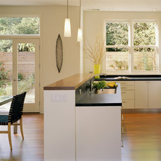 Contemporary Kitchen by Trachtenberg Architects
