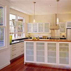 Contemporary Kitchen by Trachtenberg Architects