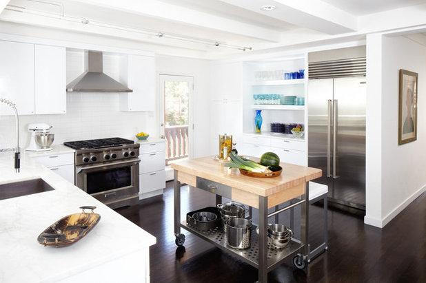 コンテンポラリー キッチン by Weiss Architecture Inc