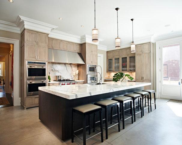 Contemporary Kitchen by Harvest House Craftsmen