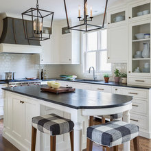 Empty Nesters Get the Classic White Kitchen They Always Wanted