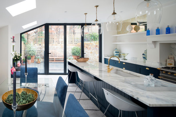 Transitional Kitchen by KD2 London