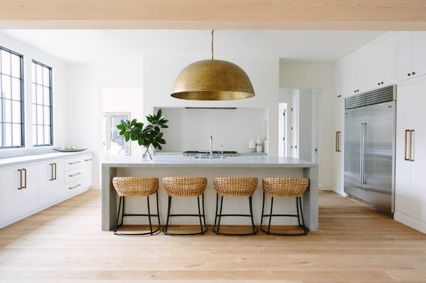 Coastal Kitchen by Redo Home and Design