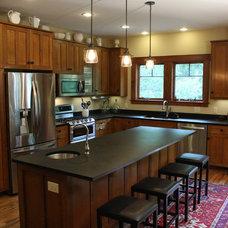 Craftsman Kitchen by Cris Bifaro Woodworks