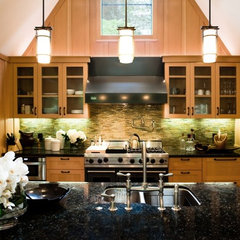 contemporary kitchen by Fatima McNell