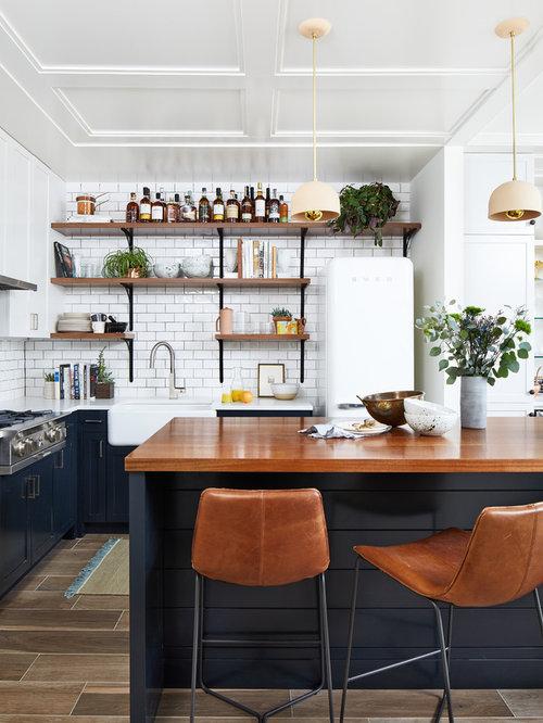 Moderne Küchen mit Schrankfronten im Shaker-Stil Ideen, Design ...