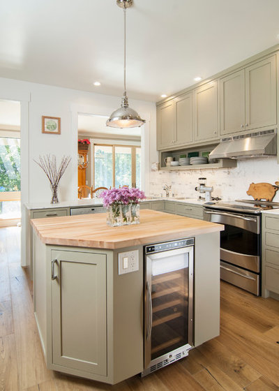 Traditional Kitchen by Amanda Armstrong Sava