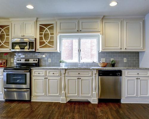 Budget traditional galley kitchen design ideas remodels for Traditional galley kitchen design ideas