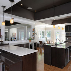 Contemporary Kitchen by Chuck Mills Residential Design & Development Inc.