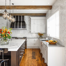 Traditional Kitchen by Astro Design Centre
