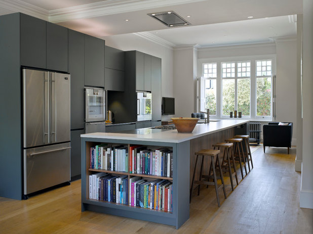 Transitional Kitchen by Roundhouse