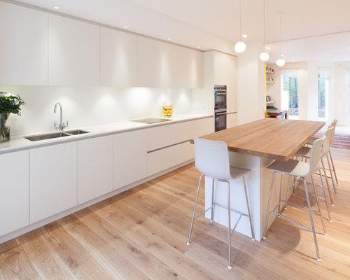 Scandinavian Open Plan Kitchen Design Ideas Renovations