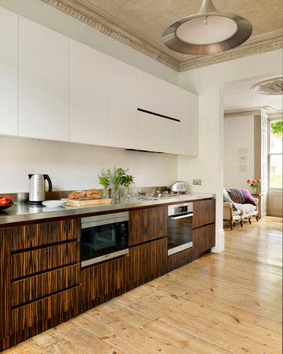 Inspiration: vi vil gerne bede om mere træ i køkkenet, tak!
