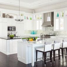 Transitional Kitchen by Marilee Bentz Designs, Inc.