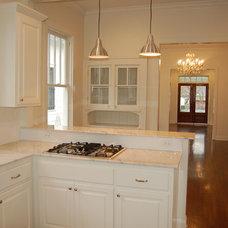 Traditional Kitchen by Jennifer Oliver Art and Design