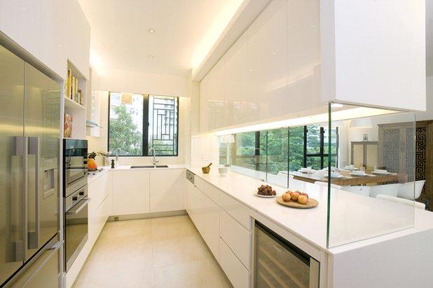 10 solutions pour am nager une cuisine semi ouverte for Cuisine 8m2 ilot