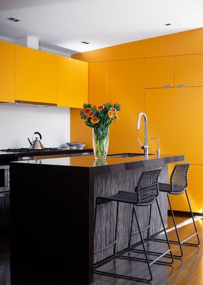 Bunt ist das neue weiß! die 10 schönsten küchen mit mut zur farbe