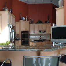 Contemporary Kitchen by LMR Designs, LLC