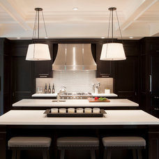 transitional kitchen by Tamara Magel Studio