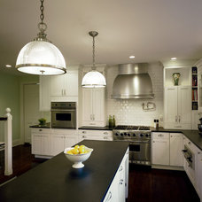 Traditional Kitchen by Laura Kirar Design