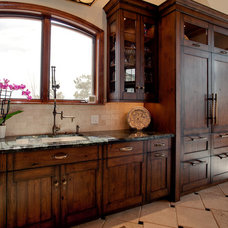 Traditional Kitchen by The Open Cupboard