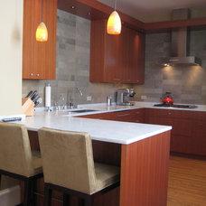 Modern Kitchen by Steve Rankin Architecture