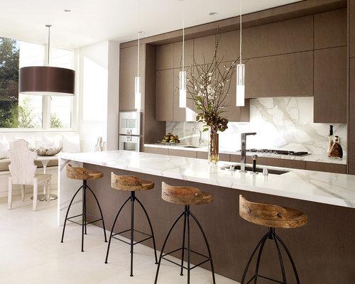 Marble Kitchen Backsplash marble kitchen backsplash | houzz