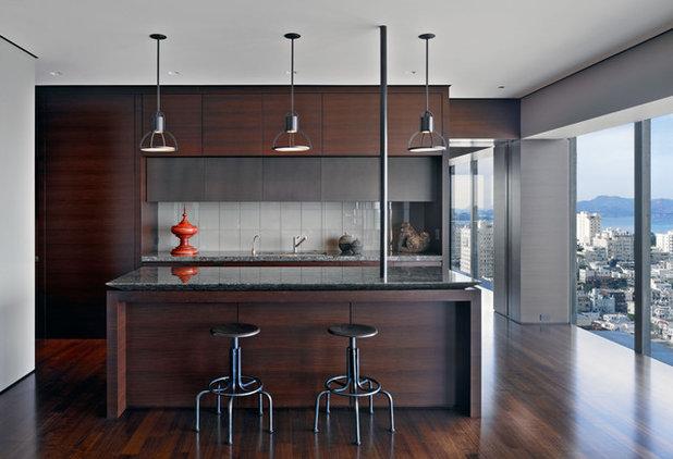 Moderno Cucina by Zack de Vito Architecture + Construction
