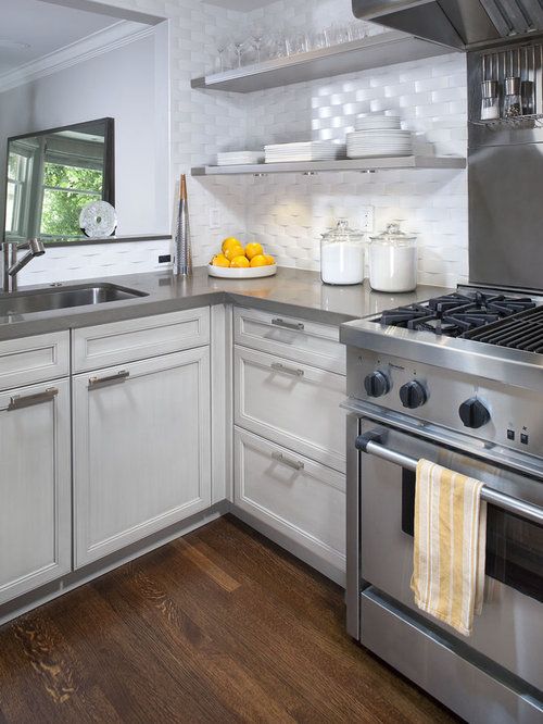 Grey Quartz Countertops | Houzz
