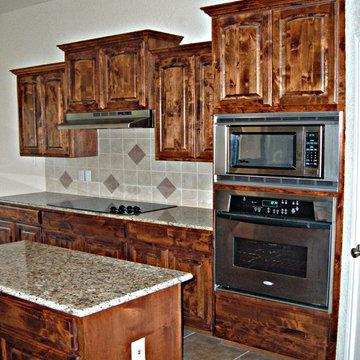 Rustic Alder Cabinets
