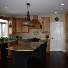 traditional kitchen by Iris Interiors LLC