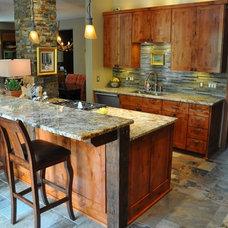 Traditional Kitchen by Schmitt Custom Furniture