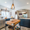 Kitchen of the Week: A Bold Recipe of Blue, White, Brass and Wood
